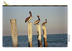Fashionably Late Carry-all Pouch