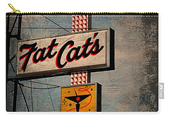Fat Cat's Lounge Carry-all Pouch