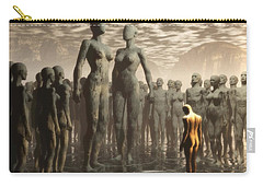 Carry-all Pouch featuring the digital art Fate Of The Dreamer by John Alexander