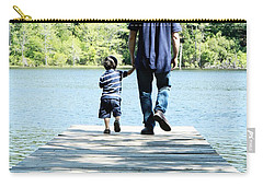 Father And Son Carry-all Pouch by Andrea Anderegg