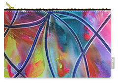 Faux Stained Glass 1 Carry-all Pouch