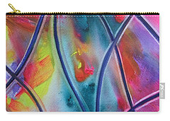 Faux Stained Glass II Carry-all Pouch