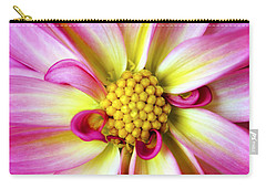 Carry-all Pouch featuring the photograph Favorite Flower by Marilyn Hunt