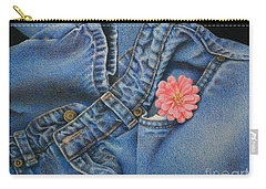 Favorite Jeans Carry-all Pouch by Pamela Clements