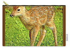 Fawn Poster Image Carry-all Pouch