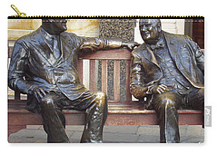 Fdr And Churchill Having A Chat In London Carry-all Pouch