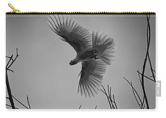 Feathered Flight  Carry-all Pouch by Douglas Barnard