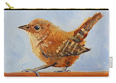 Feathered Carry-all Pouch