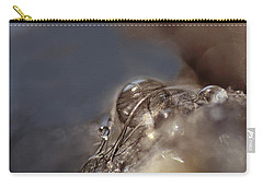 Feathers And Pearls Carry-all Pouch by Susan Capuano