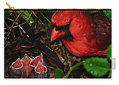 Feed Me Daddy Carry-all Pouch by Frozen in Time Fine Art Photography