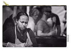 Carry-all Pouch featuring the photograph Feeding The Multitudes by Wallaroo Images