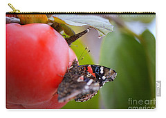 Carry-all Pouch featuring the photograph Feeding Time by Erika Weber