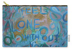 Feel One With You Carry-all Pouch