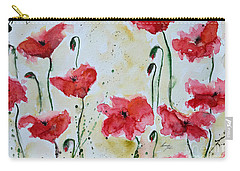 Feel The Summer 1 - Poppies Carry-all Pouch