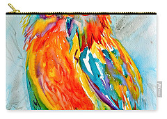 Feeling Owlright Carry-all Pouch by Beverley Harper Tinsley