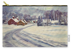 Felchville Village In The Snow Carry-all Pouch