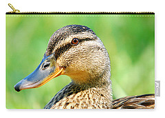 Female Mallard Carry-all Pouch