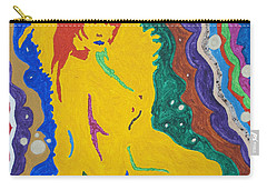 Nude Goddess Carry-all Pouch by Stormm Bradshaw
