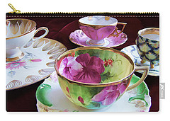 Feminine High Society Ladies Tea Party Carry-all Pouch