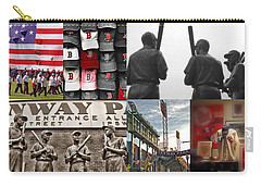 Fenway Memories Carry-all Pouch by Joann Vitali