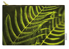 Carry-all Pouch featuring the photograph Fern by Bradley R Youngberg