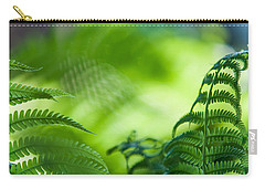 Fern Leaves. Healing Art Carry-all Pouch