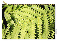 Fern With Dew Carry-all Pouch
