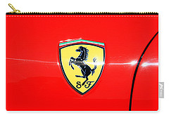 Ferrari Logo Carry-all Pouch