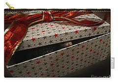 Carry-all Pouch featuring the photograph Ferrety Christmas by Cassandra Buckley