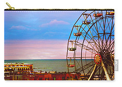 Ocean City New Jersey Ferris Wheel And Music Pier Carry-all Pouch
