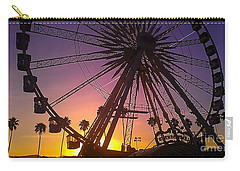 Carry-all Pouch featuring the photograph Ferris Wheel by Chris Tarpening