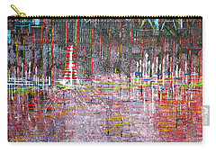 Ferris Wheel Fun - Sold Carry-all Pouch by George Riney