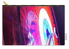 Ferris Wheel Carry-all Pouch by Gandz Photography