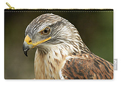 Carry-all Pouch featuring the photograph Ferruginous Hawk by Doug Herr