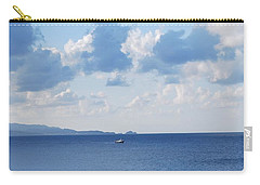 Ferry On Time Carry-all Pouch by George Katechis