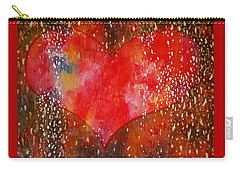 Festive Heart Carry-all Pouch