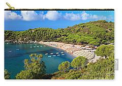 Fetovaia Beach - Elba Island Carry-all Pouch