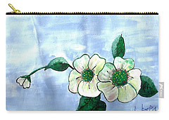 Field Flowers Carry-all Pouch by Francine Heykoop
