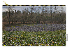 Carry-all Pouch featuring the photograph Field Of Color 2 by Belinda Greb