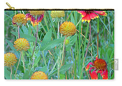 Field Of Color Carry-all Pouch by Jennifer Muller