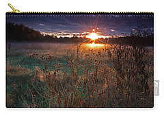 Field Of Dreams Carry-all Pouch by Suzanne Stout