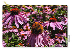 Field Of Echinaceas Carry-all Pouch