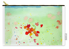Field Of Flowers 2 Carry-all Pouch by C Sitton
