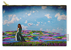 Field Of Flowers... Carry-all Pouch by Tim Fillingim