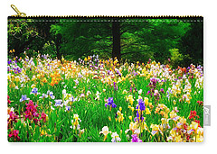 Field Of Iris Carry-all Pouch
