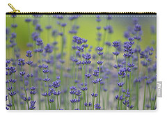 Field Of Lavender Flowers Carry-all Pouch