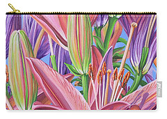 Field Of Lilies Carry-all Pouch