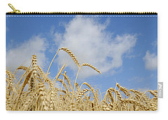 Field Of Wheat Carry-all Pouch by Charles Beeler