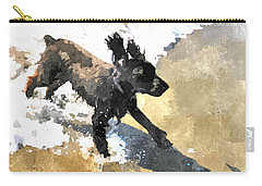 Field Spaniel Joy Carry-all Pouch by Susan Molnar