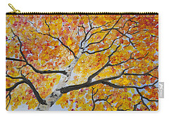 Fiery Aspen Carry-all Pouch
